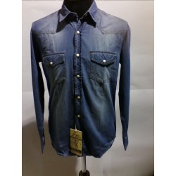 RECOGNISE camicia jeans vintage
