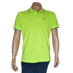 DIADORA polo col. lime punch