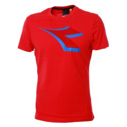 Diadora T-Shirt col. tomato red