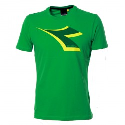 Diadora T-Shirt col bright green