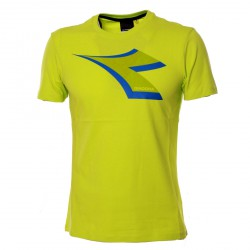 Diadora T-Shirt col. lime punch