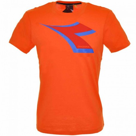 Diadora T-Shirt col.vermillion orange